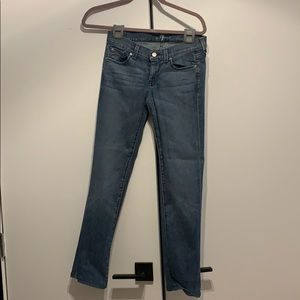 7 For All Mankind Jeans - Straight Leg - Size 25